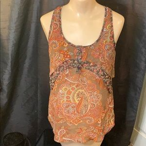 Sassy tank top with layers - Small